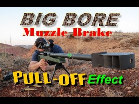 SNIPER 101 Part 55 - Muzzle Brake Pull-Off Effect (repaired version)