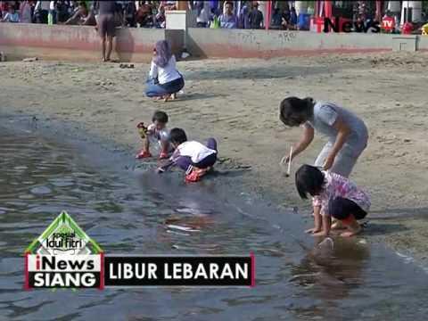 Live Report : libur lebaran, warga padati pantai Ancol - iNews Siang 07/07