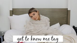 GET TO KNOW ME TAG l Olivia Jade