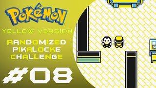 LIVE: 08   Pokémon: Yellow   Randomized Pikalocke Challenge