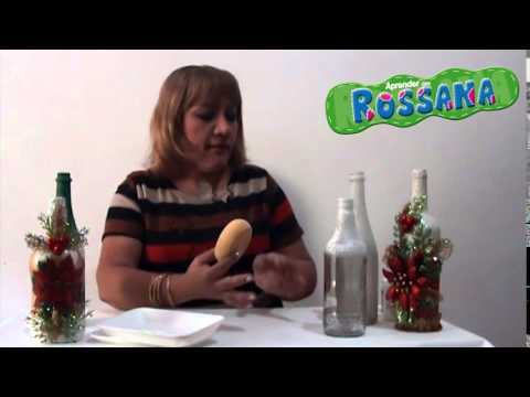 Aprender con rossana tv decoraci n para botellas de for Adornos con botellas para plantas