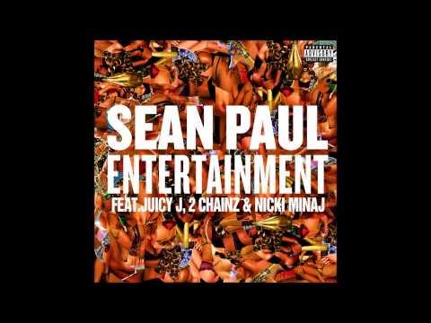 Sean Paul - Entertainment Remix Ft. Nicki Minaj, Juicy J, & 2 Chainz (audio) video
