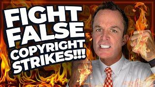 How to FIGHT False Copyright Strikes!!!
