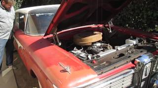 1959 Edsel Ranger Cold Start