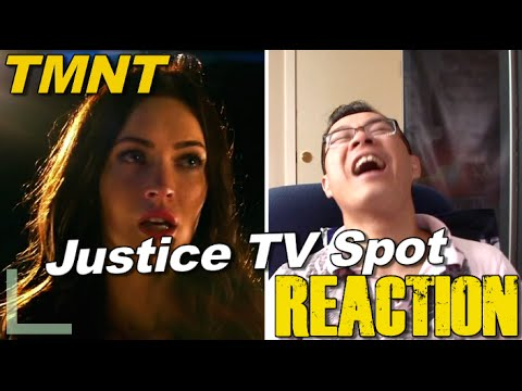REACTION to TMNT Justice Extended TV Spot