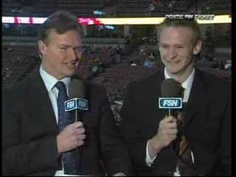 Anaheim Ducks - Corey Perry Interview 3/26/08