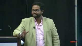 Ambarish Mitra (CEO, Blippar) - Augmented Reality for Entertainment at AWE 2014