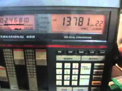 Grundig Satellit 400 shortwave test