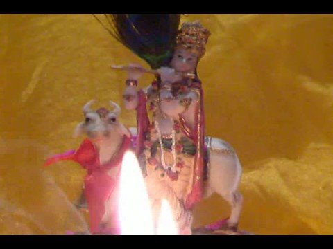 JANMASHTMI ARTI OM JAI JAGDISH HARE WITH VIRTUAL AARTI FLAME...
