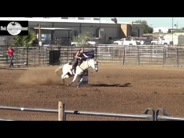 Barrel Racing Highlights From Marana Heritage Arena Dec 1st 2012