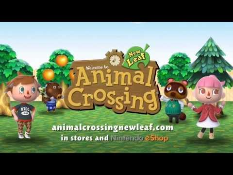 Nintendo 3DS  Animal Crossing- New Leaf Tourism Trailer