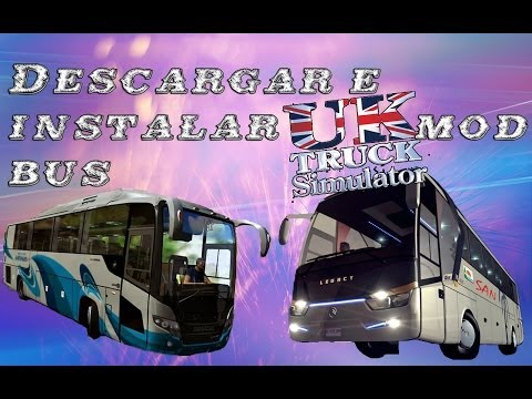 Descargar uk truck simulator mod bus indonesia y map