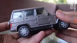 New Mahindra Bolero super toy car.