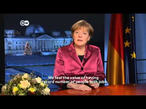 Angela Merkel — 2015 New Year's Speech