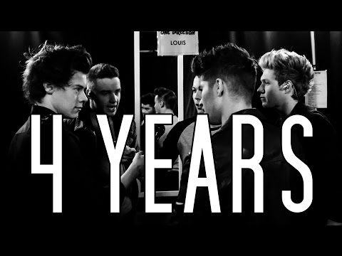 4 Years Of One Direction video
