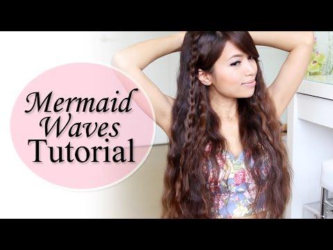 Mermaid Waves Hair Tutorial + NuMe Deep Waver GIVEAWAY!