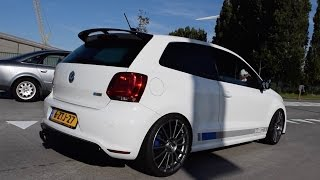 400+ HP VW Polo R WRC W/ Akrapovic exhaust!