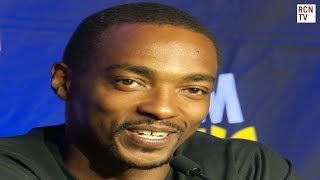 Anthony Mackie Answers Cute Kid Questions At Comic Con