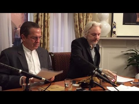 Assange: I will leave Ecuadorian Embassy soon (FULL SPEECH)