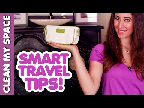 10 Tips for Keeping Clean & Organized While Travelling! (Clean My Space)