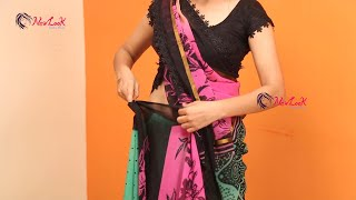 Simple and Effortless Saree Draping Tutorial For Beginners | The art of Wearing Saree