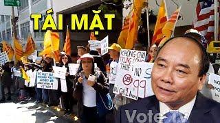 Tổng Biểu tình phản đối quốc hội bán đất Đặc Khu Kinh Tế trước đại sứ quán #VoteTv