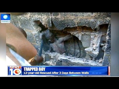 12 Year Old Boy Rescued After 3 Days Between Walls