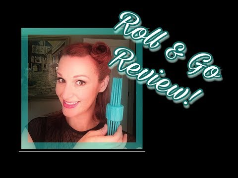 EASY Pin Up Hair with the ROLL & GO *Review & Tutorial*