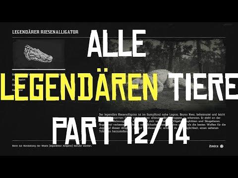 RED DEAD REDEMPTION 2 | JAGEN | ALLE LEGENDÄREN TIERE PART 12/14 Der Riesenalligator