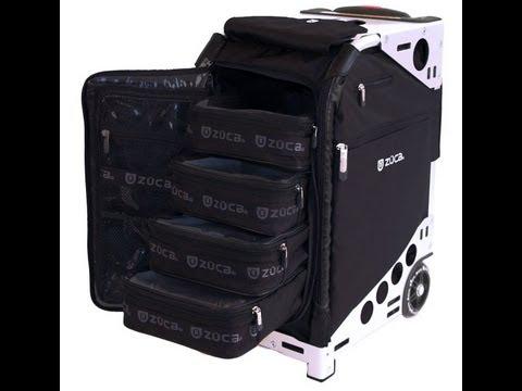 zuca pro best makeup case kit ever youtube. Black Bedroom Furniture Sets. Home Design Ideas