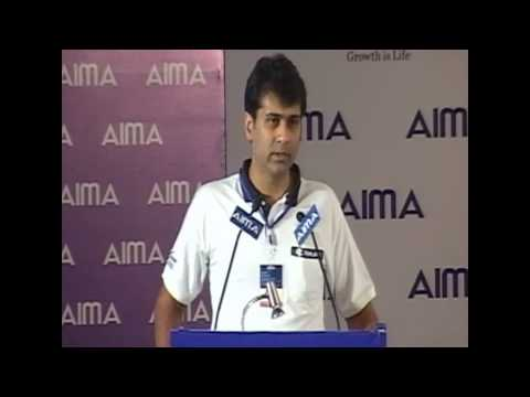 Rajiv Bajaj At Aima's 40th Nmc 2013 video