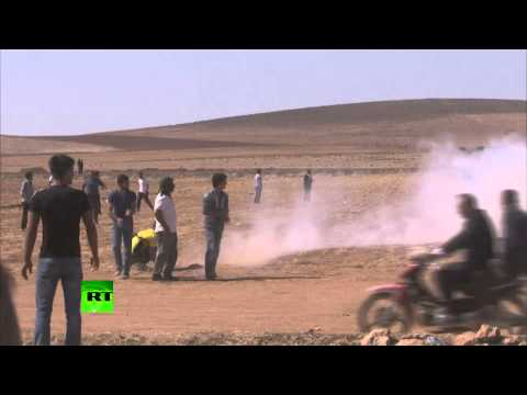 Kurds kettled: Turkish teargas, water cannon unleashed as ISIS takes border town