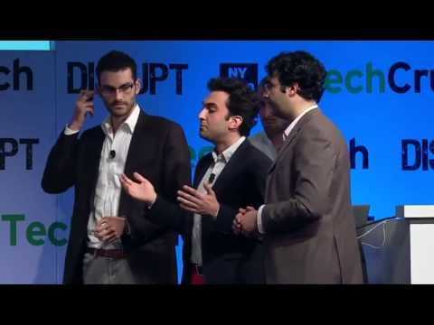 WINNER Enigma | Disrupt NY 2013 Startup Battlefield Finals