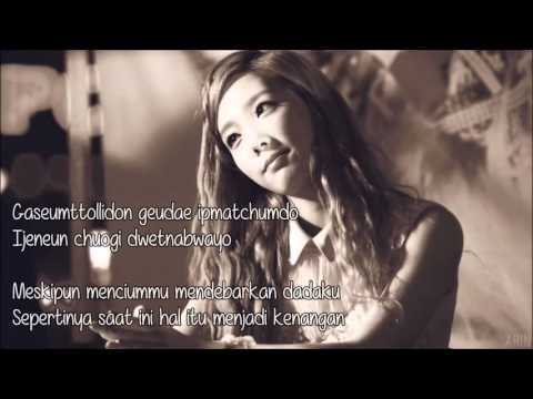 Taeyeon - I Love You (Rom/Indo) Lyrics