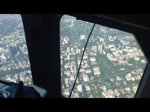 Druk Air A319 taking-off Dhaka Airport - Bangladesh