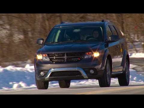2015 Dodge Journey Crossroad - TestDriveNow.com Review by Auto Critic Steve Hammes | TestDriveNow