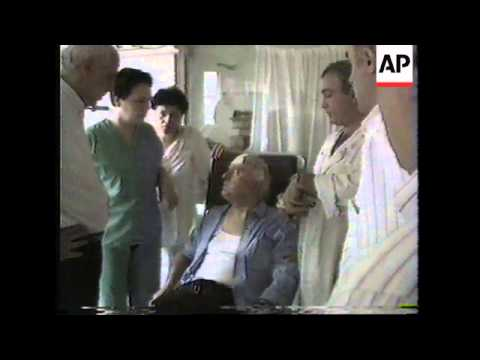 GEORGIA: EDUARD SHEVARDNADZE INJURED IN CAR BOMB EXPLOSION
