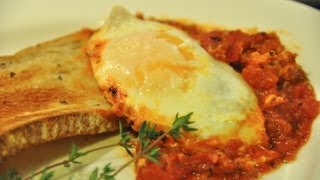 HOW TO MAKE EGGS IN PURGATORY- ITALIAN STYLE EGGS