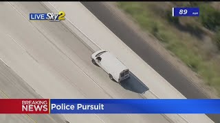 Pursuit Of Possible Stolen Car Suspect Ends In Standoff