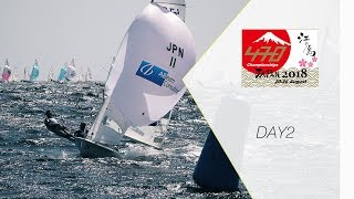 470 class Japan Championships 2018 DAY2