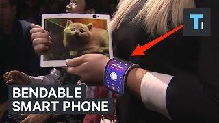 Bendable smart phone