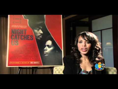 Kerry Washington - Night Catches Us Interview