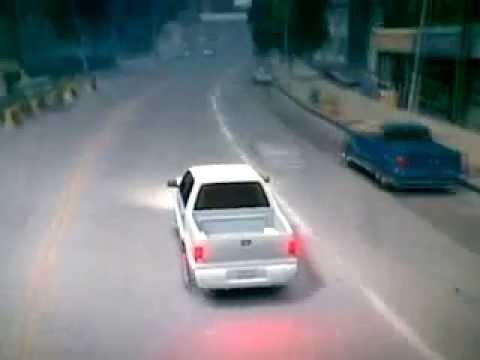 grand theft auto IV- تفحيط حرامي السيارات