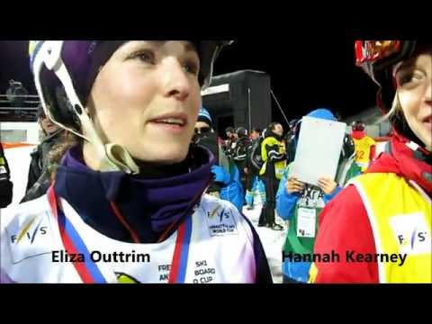 Hannah Kearney and Eliza Outtrim on Voss weather