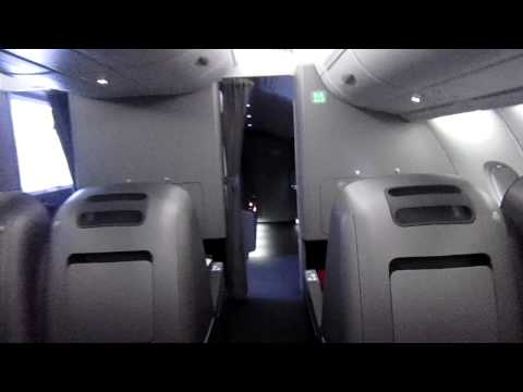 Qantas A380 Business Class and Premium Economy Walkthrough