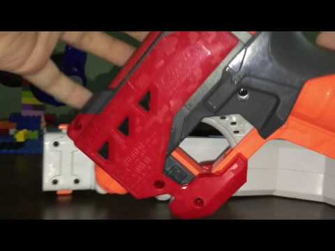 How Make A Nerf Gun stock