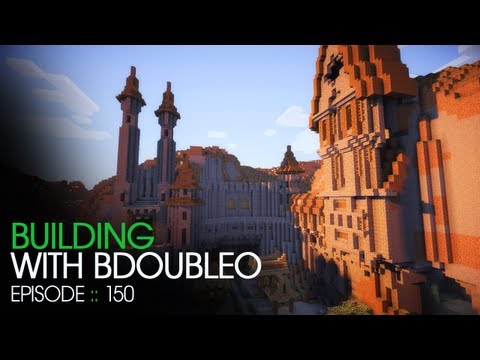 Minecraft Building with BdoubleO Episode 150 Sonic Ethers Unbelievable Shaders