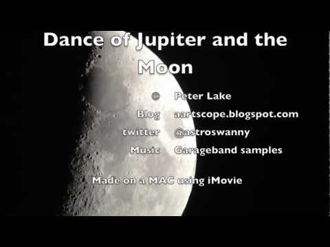 Jupiter moon dance