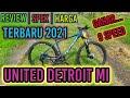 review sepeda MTB UNITED DETROIT MI 2021
