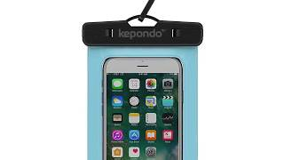 Kepondo Waterproof Phone Case, IPX8 (30m depth), Underwater Phone Pouch for any device up to 6.0""